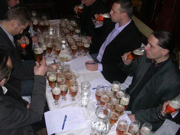 Finále Českých ležáků První Pivní Extraligy 1.12.2010 v Tramwayi