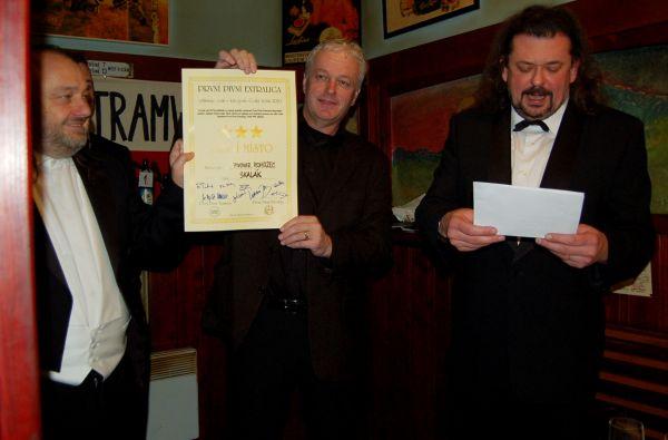 Finále Českých ležáků První Pivní Extraligy 1.12.2010 v Tramwayi; Vítěz PPE 2010